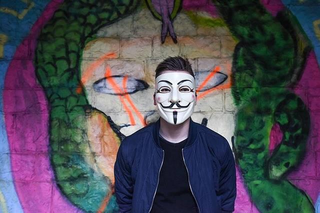 Anonymous Graffiti Mask - Free photo on Pixabay (386609)