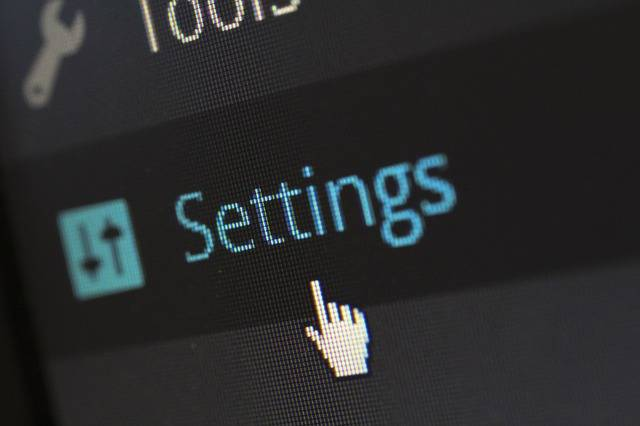 Settings Options Software - Free photo on Pixabay (386623)