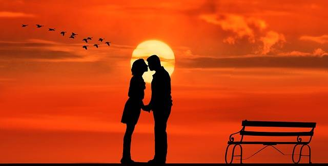 Sunset Pair Lovers - Free image on Pixabay (388866)