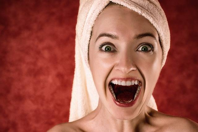 Blonde Towel Portrait - Free photo on Pixabay (389185)