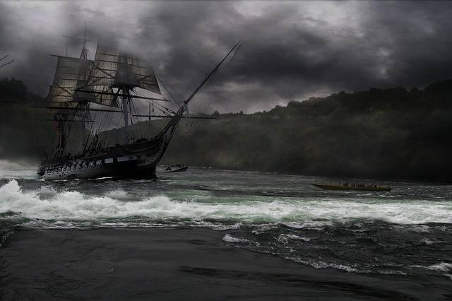 Sailing Ship Rushing Water River - Free photo on Pixabay (389983)