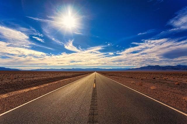 Road Sky Desert - Free photo on Pixabay (390682)