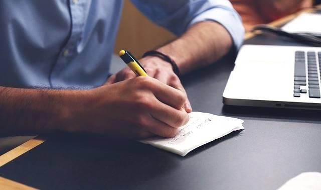 Write Plan Desk - Free photo on Pixabay (390697)