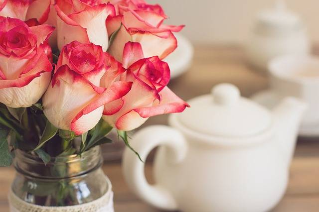 Roses Bouquet Tea Party - Free photo on Pixabay (390731)