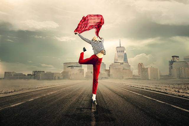 Girl Woman Joy Of Life - Free photo on Pixabay (391161)