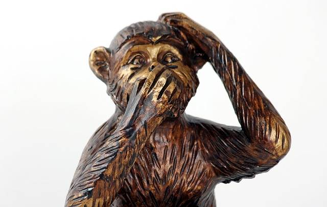 Monkey Do Not Speak Symbol - Free photo on Pixabay (392681)
