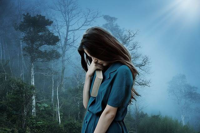 Girl Sadness Loneliness - Free photo on Pixabay (393095)