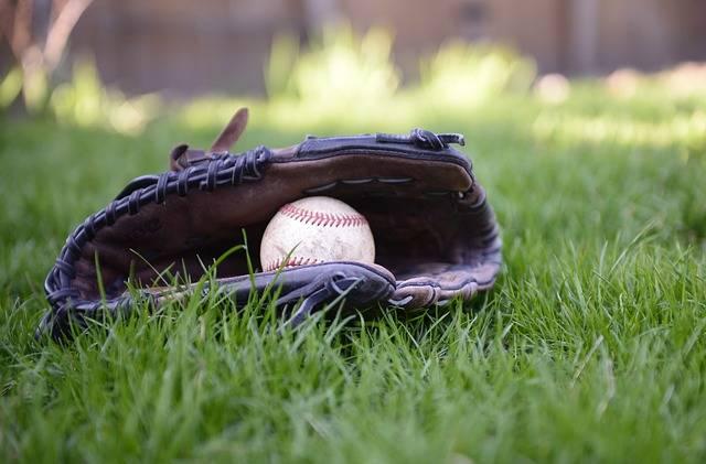 Baseball Glove Ball - Free photo on Pixabay (394157)