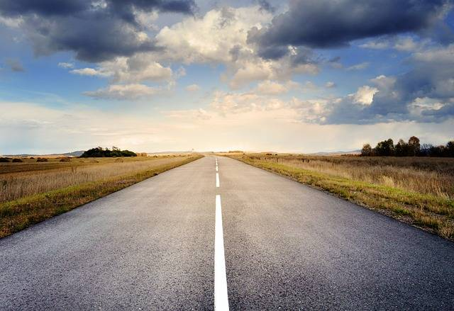 Road Asphalt Sky - Free photo on Pixabay (394435)