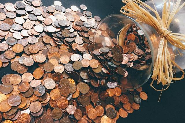 Coins Pennies Money - Free photo on Pixabay (396370)