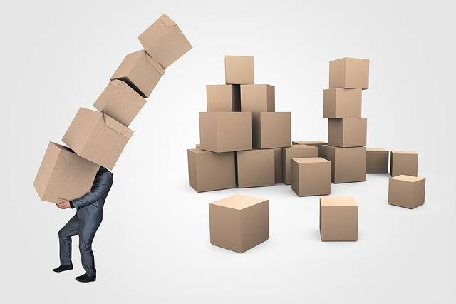 Businessman Boxes Transport - Free image on Pixabay (396457)