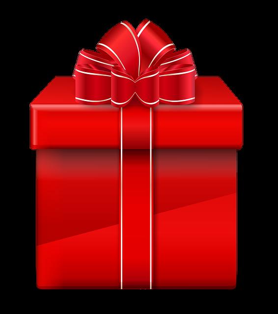 Gift Red Christmas - Free image on Pixabay (397347)