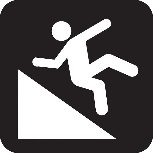 Hillslope Falling Man - Free vector graphic on Pixabay (397608)
