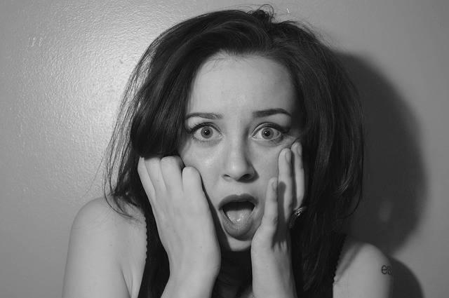Shock Woman Portrait - Free photo on Pixabay (399410)
