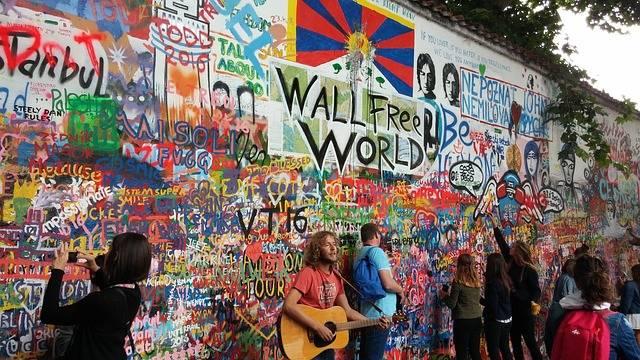 Graffiti Popular Culture Lennon - Free photo on Pixabay (400178)