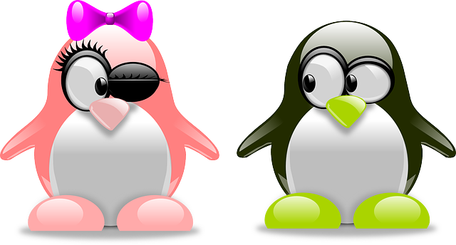 Penguins Art Amorous - Free vector graphic on Pixabay (402487)