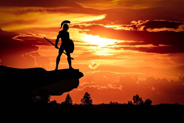 Spartan Army Sun - Free photo on Pixabay (402715)