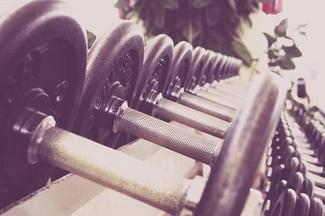 Fitness Dumbbells Training - Free photo on Pixabay (403465)