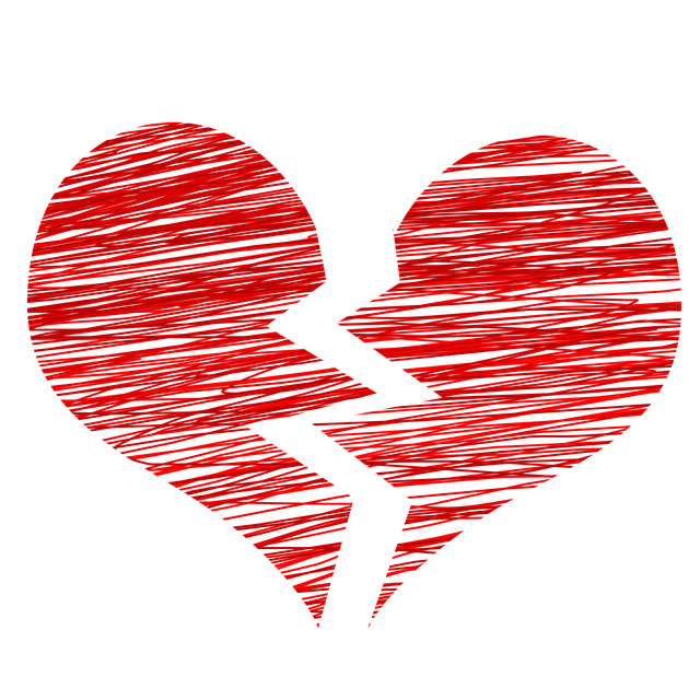Heart Broken Separation - Free image on Pixabay (404823)