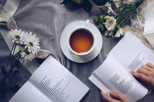 Tea Time Poetry Coffee - Free photo on Pixabay (405086)