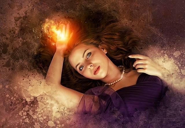 Portrait Fantasy Woman - Free image on Pixabay (405153)