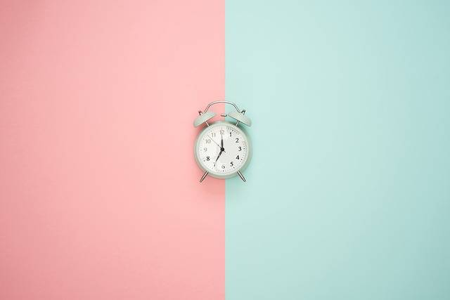 Time Clock Alarm Pastel - Free photo on Pixabay (405166)