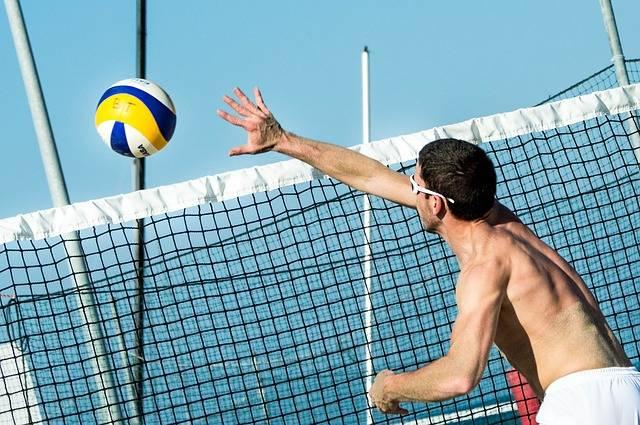 Beach Volleyball Ball - Free photo on Pixabay (405691)