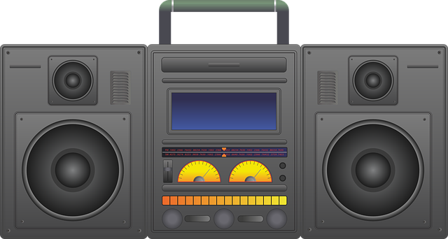 Boombox Ghetto Blaster Audio - Free vector graphic on Pixabay (406092)