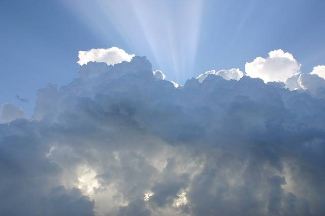 Sky Clouds Rays Of Sunshine - Free photo on Pixabay (406852)
