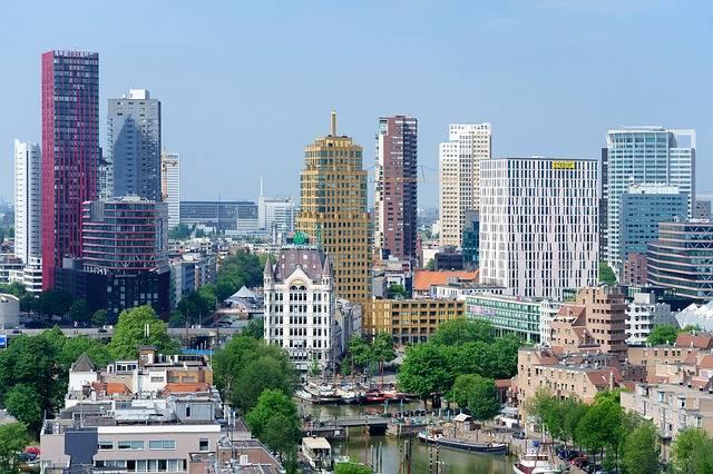 View Skyline Rotterdam - Free photo on Pixabay (409806)
