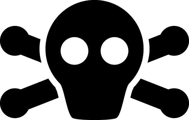 Skull Crossbones Black Symbols - Free vector graphic on Pixabay (409843)