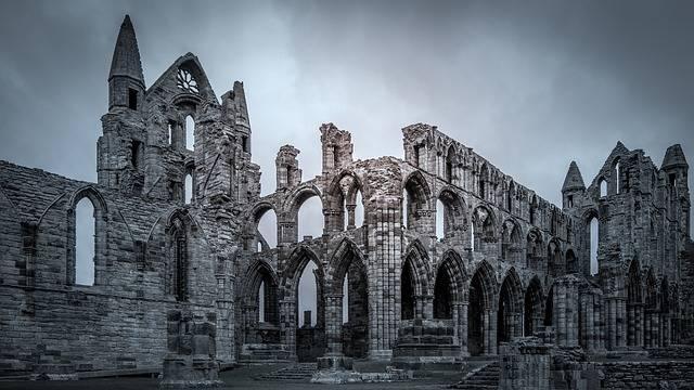 Whitby Abbey Dracula Bram Stoker - Free photo on Pixabay (410285)