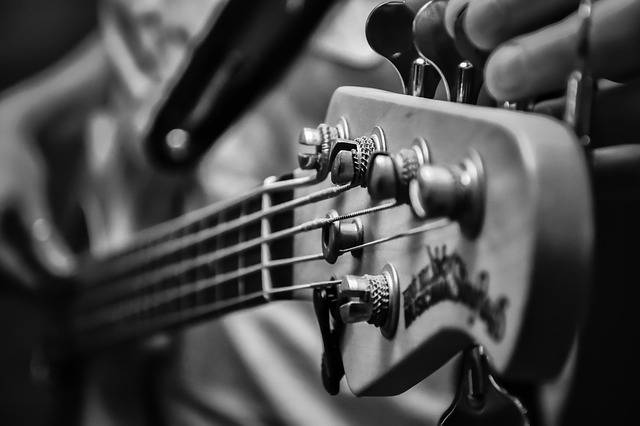 Music Low Electric Bass - Free photo on Pixabay (410747)