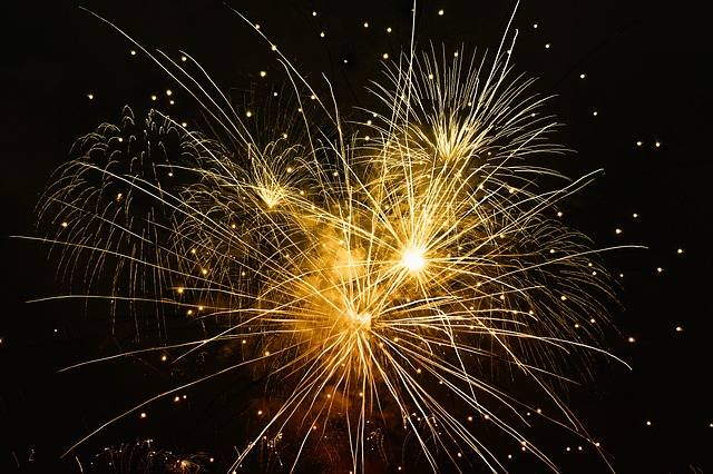 Fireworks New Year'S Day Year - Free image on Pixabay (411643)