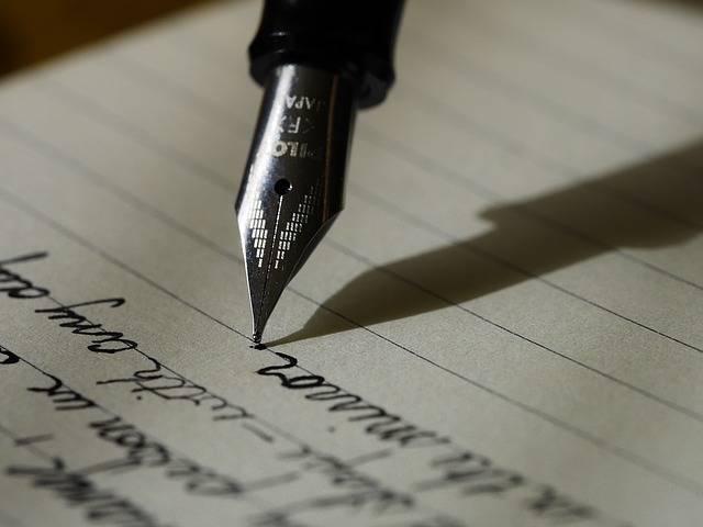 Writing Write Fountain Pen - Free photo on Pixabay (411909)