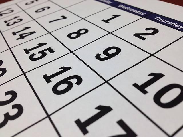 Calendar Date Time - Free photo on Pixabay (412072)