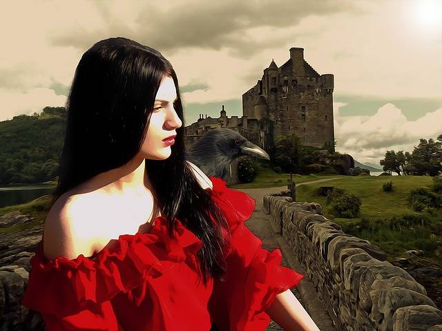 Gothic Fantasy Medieval - Free image on Pixabay (413050)
