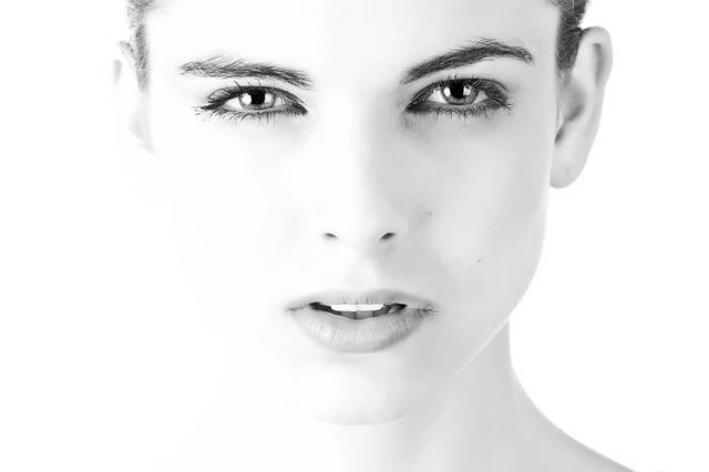 Model Face Beautiful Black And - Free photo on Pixabay (413101)