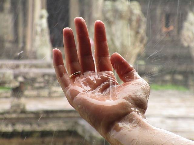 Hand Rain Zen - Free photo on Pixabay (413479)