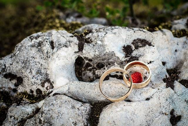 Wedding Rings Young Couple - Free photo on Pixabay (413484)