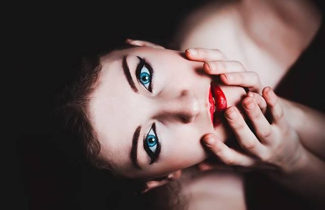 Blue Eyes Woman Female - Free photo on Pixabay (416555)