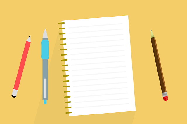 Desk Notes Notebook - Free vector graphic on Pixabay (417742)