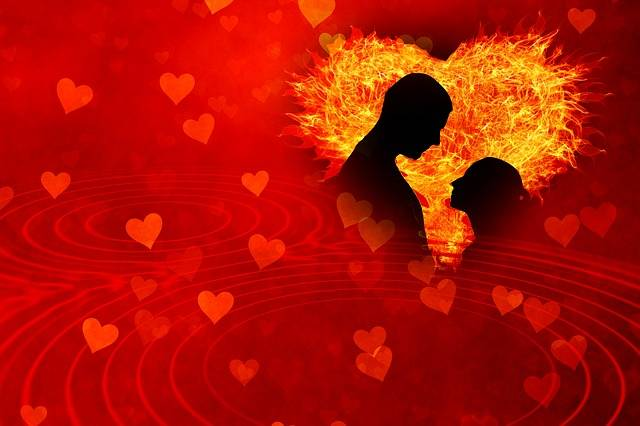 Heart Love Flame - Free image on Pixabay (418041)