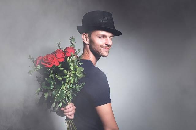 Man Flowers Romance - Free photo on Pixabay (418628)