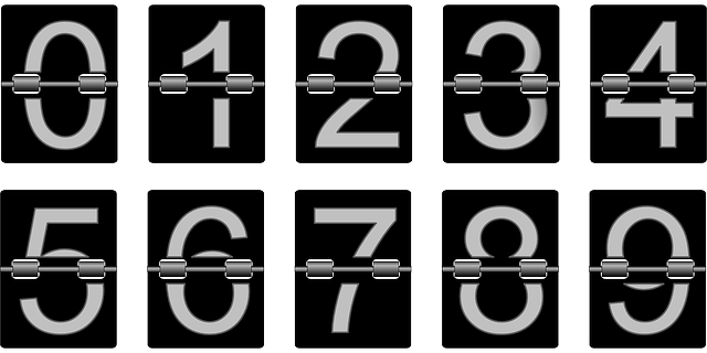 Numbers Counter Meter - Free vector graphic on Pixabay (418695)