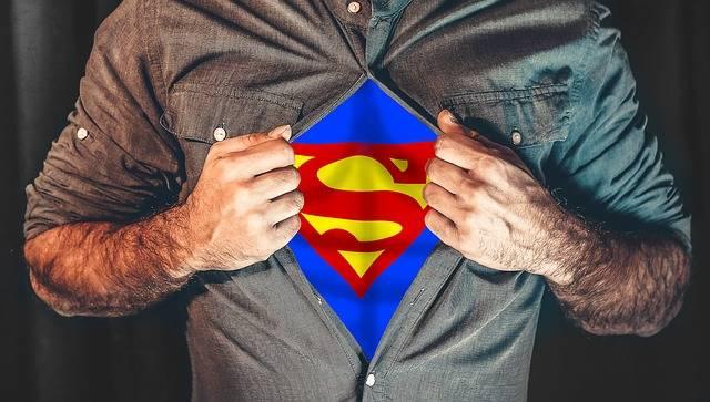 Superhero Shirt Tearing - Free photo on Pixabay (420247)