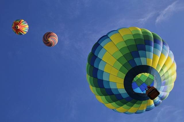 Hot Air Balloons Floating Fun - Free photo on Pixabay (422547)