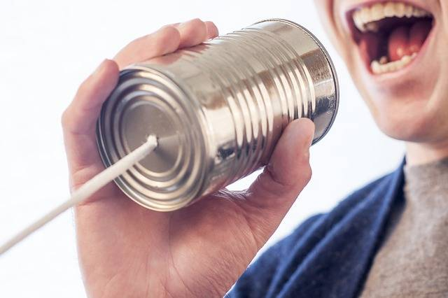 Speak Talk Microphone Tin - Free photo on Pixabay (423741)