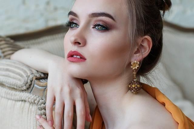Girl Makeup Beautiful - Free photo on Pixabay (424280)