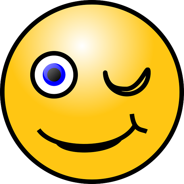 Emoticon Winking Smiley - Free vector graphic on Pixabay (427839)